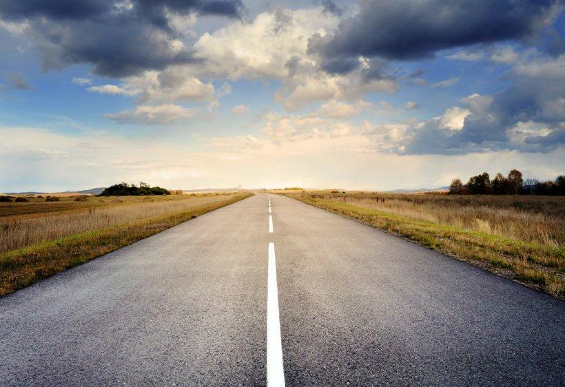 Știai? Acesta este cel mai drept drum din România