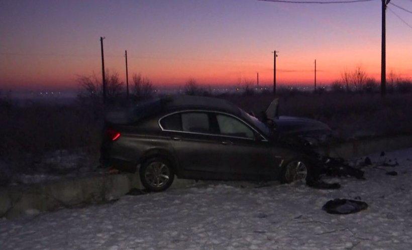 Accident grav pe Șoseaua de Centură a Capitalei. Patru persoane au fost rănite - VIDEO