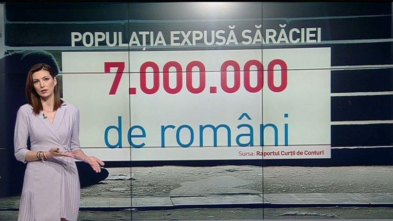 Şapte milioane de români sunt expuşi sărăciei