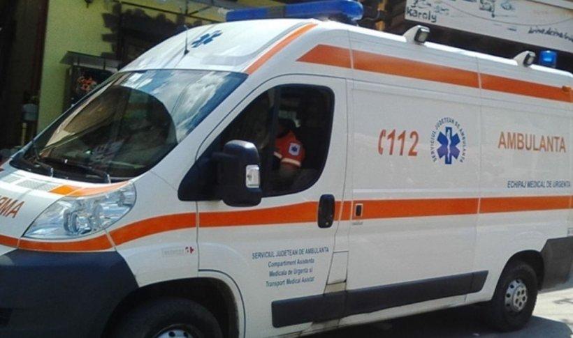 Un agent de pază din Gorj, în stare gravă, după ce a fost bătut de un tânăr