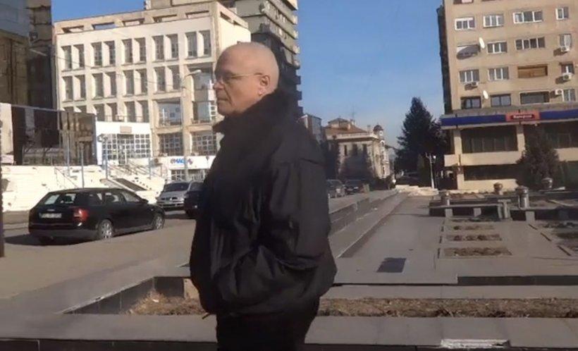 Eugen Nicolicea și Codrin Ștefănescu, jigniți de un protestatar