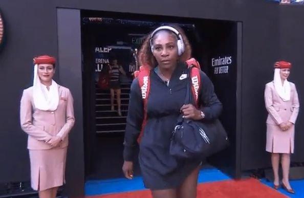 Serena Williams, gafă înaintea meciului cu Simona Halep. A reușit să stârnească râsul tuturor spectatorilor - VIDEO