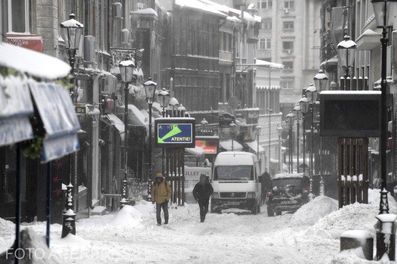 Vremea în București. Sunt așteptate ninsori, ploi și polei!