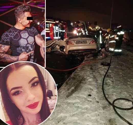 Ștefan Cârjă, șoferul în vârstă de 19 ani care a provocat accidentul cumplit din Cluj, se zbate în prezent între viață și moarte în spital
