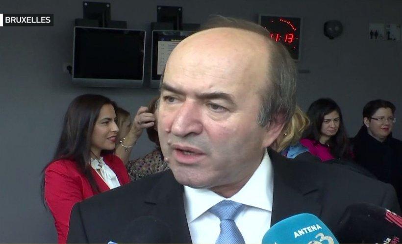 Tudorel Toader, declarație la Bruxelles despre ordonanța de urgență: Nu se dorește decât un acces al cetățeanului la un judecător independent