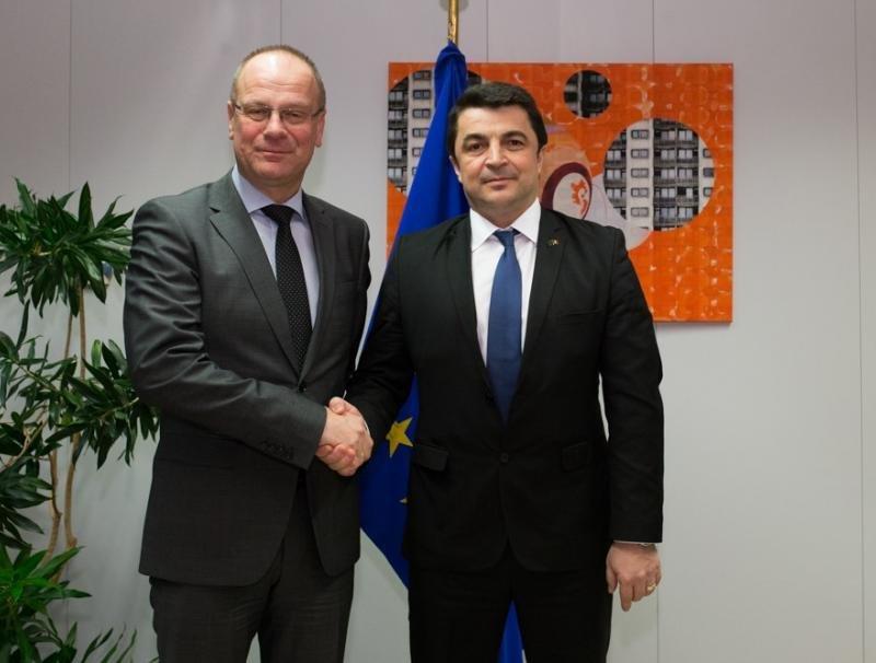 Ministrului Culturii și Identității Naționale, întâlnire cu Tibor Navracsics, comisarul european responsabil pentru educație, cultură, tineret și sport