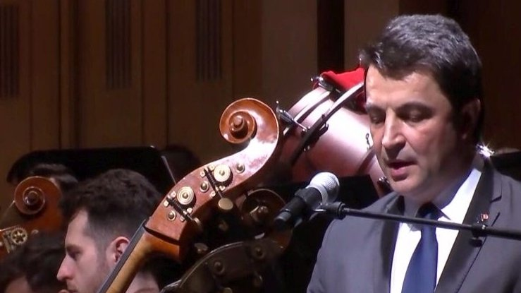 Concert de excepție la inaugurarea Președinției