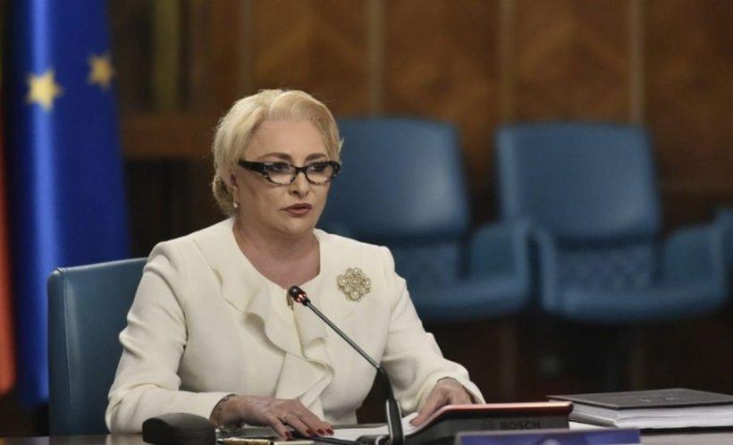 Premierul Dăncilă, declarație la Guvern: Președintele să respecte decizia CCR şi să semneze decretele de numire a miniştrilor Transporturilor şi Dezvoltării