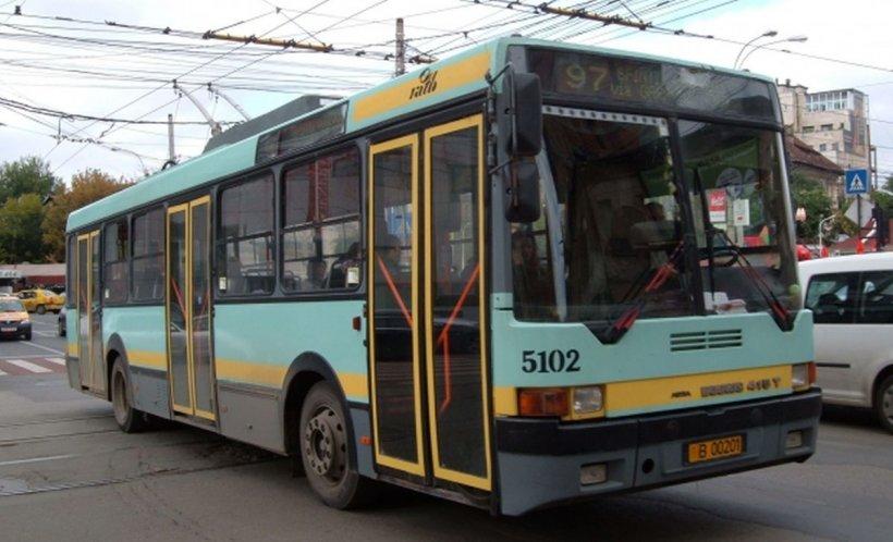 Niciun troleibuz nu mai circulă în București