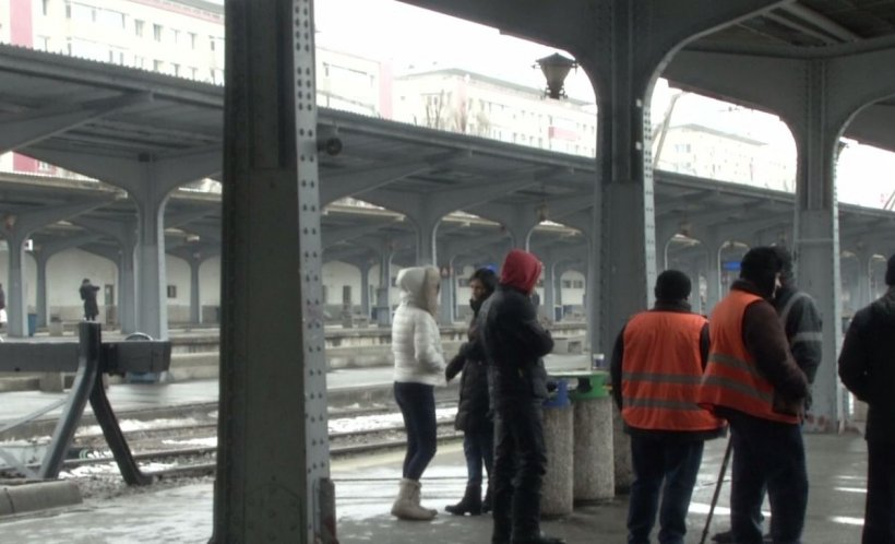 Incident gravîn Gara de Nord. Trenurile, blocatedin cauza unei avarii