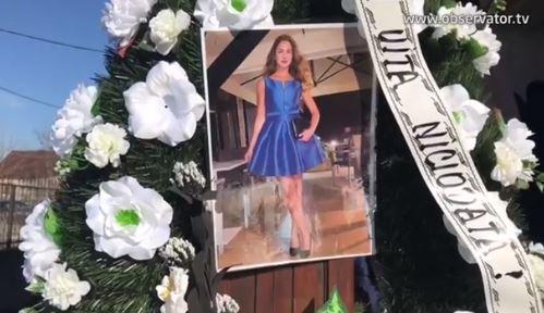 Albertina, tânăra sportivă care a murit în timp ce alerga, a fost înmormântată! Video