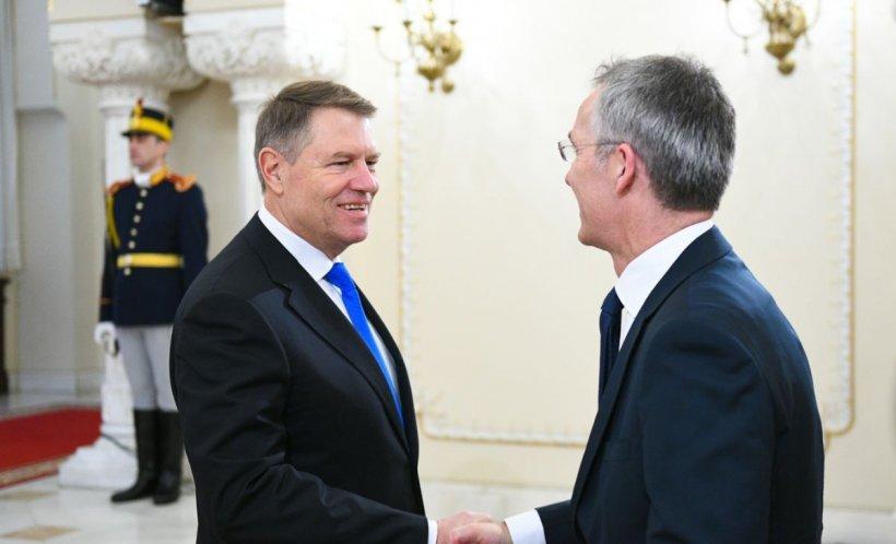 Klaus Iohannis, după întâlnirea cu secretarul general al NATO: Suntem un furnizor de securitate