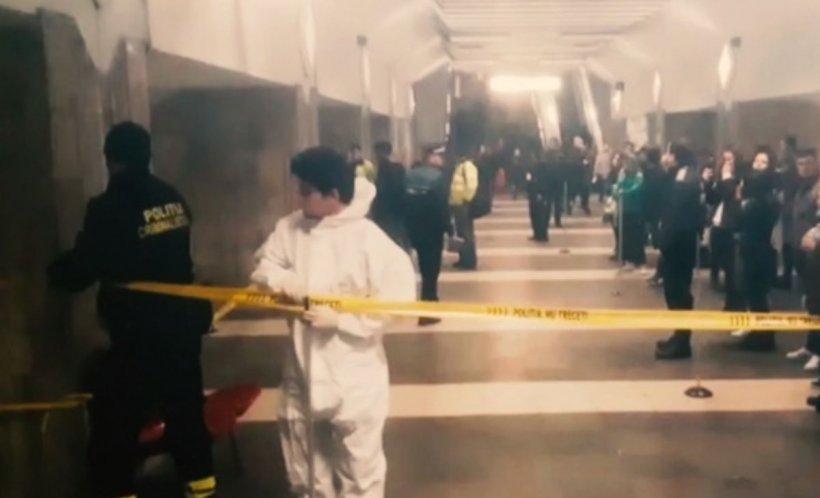Persoana lovită de metrou la Apărătorii Patriei a murit. Circulaţia trenurilor pe M2, afectată