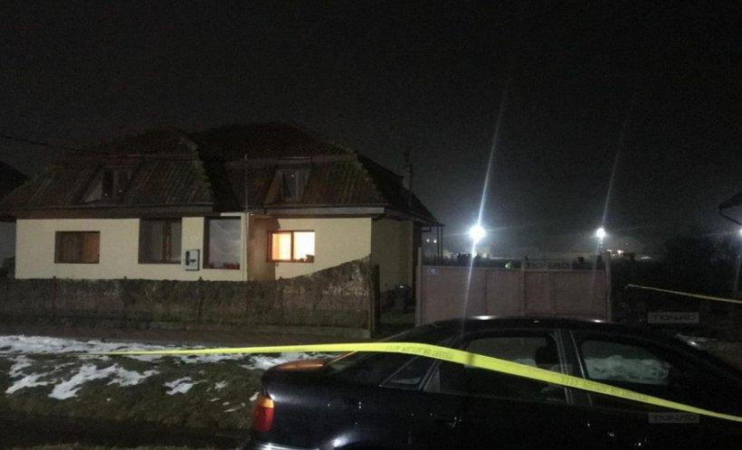 Primele imagini de la locul crimei din Timiș!Unbărbat a fostdecapitat în fața copiilor - FOTO
