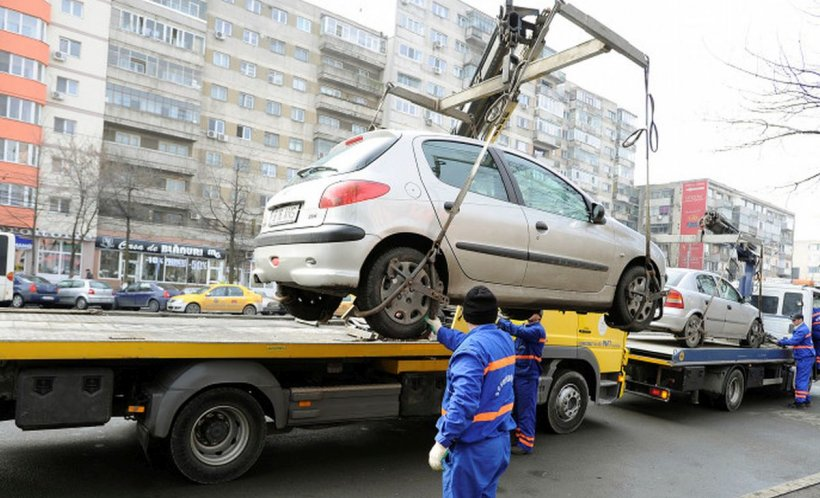 Atenție, șoferi! Când vor începe să fie ridicate maşinile parcate neregulamentar, în Capitală