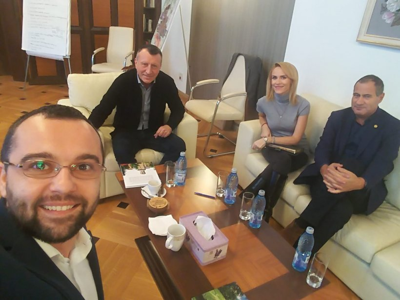 Gabriela Firea, discuții cu contestatarii lui Liviu Dragnea din PSD
