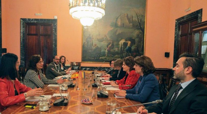 Rovana Plumb, întâlniri-cheie la nivel european pentru promovarea României: Spania și Italia apreciază deschiderea manifestată de președinția României
