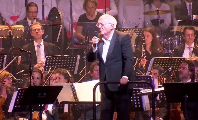 Imagini exclusive de la concertul dedicat României la Paris - VIDEO