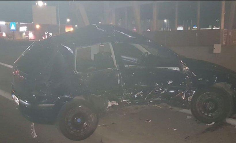 Un șofer băut din Sibiu a băgat în spital două tinere. Una dintre victime este însărcinată