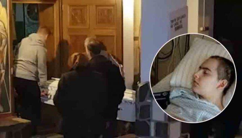 Imagini dureroase de la înmormântarea Ioanei Condea! FOTO