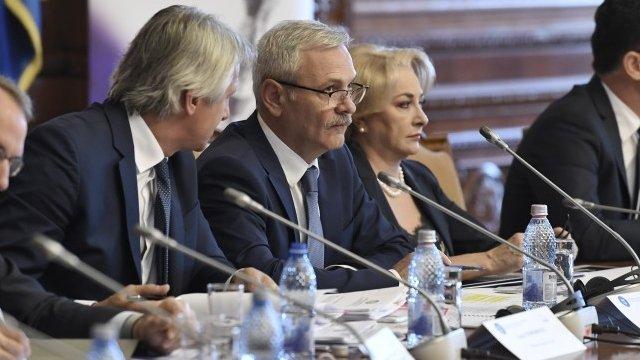 Liviu Dragnea și ministrul Finanțelor participă la ședința Asociației Municipiilor din România