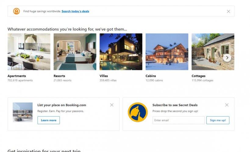 Lovitură pentru siteurile de rezervări online. Ce se întâmplă cu booking.com