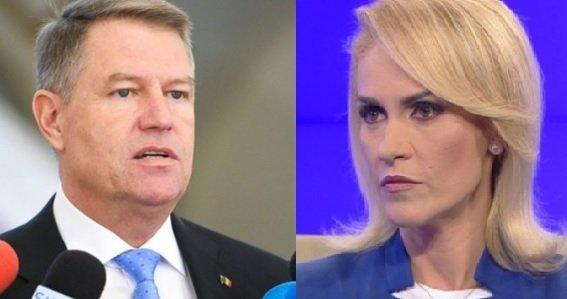 SONDAJ. Cine credeți că ar câștiga alegerile prezidențiale între Klaus Iohannis și Gabriela Firea?