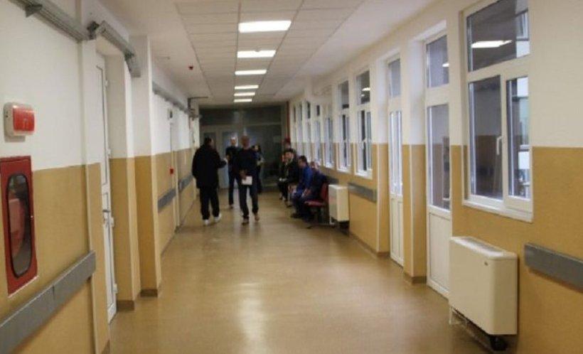 Tentativă de jaf la Spitalul Județean Arad. Amenințări grave la adresa unei infirmiere