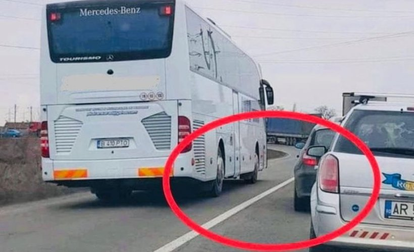 Un șofer de autocar din Arad a fost lăsat fără permis din cauza unei postăripe Facebook