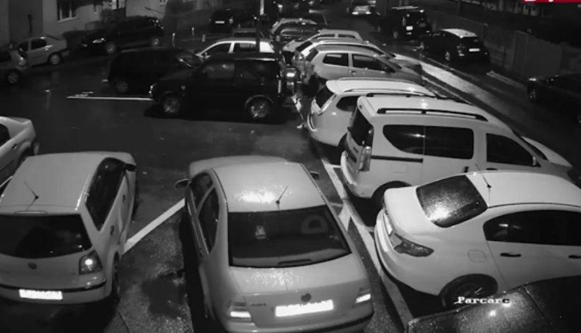 S-a dus dimineață să plece cu mașina din parcarea unui bloc din Cluj, când a zărit ceva scandalos la ea. Când s-a uitat pe camerele de supraveghere, s-a îngrozit. Cine apăruse lângă mașina sa VIDEO