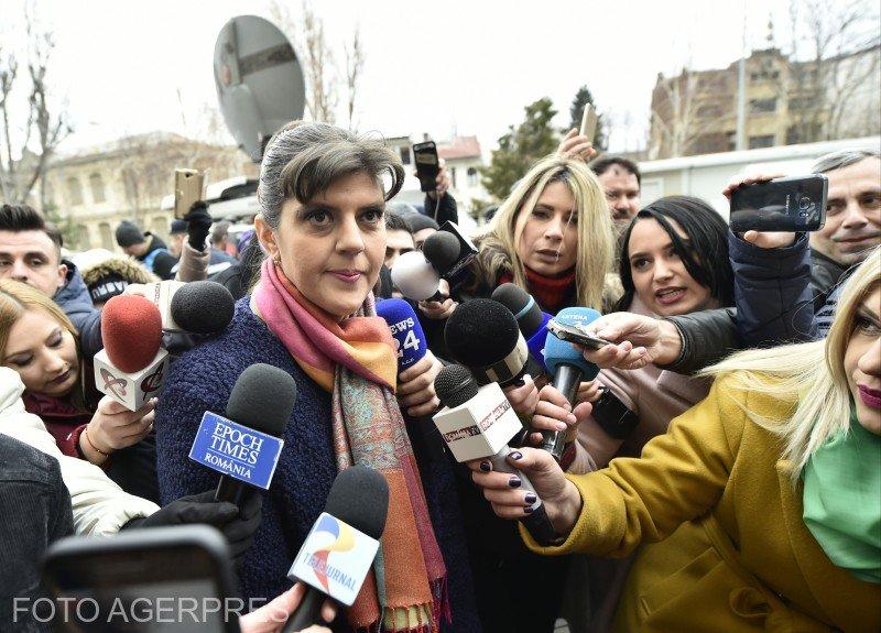 Laura Codruța Kovesi, după audierea la Parchetul General: Am calitatea de suspect. Am cerut recuzarea procurorilor