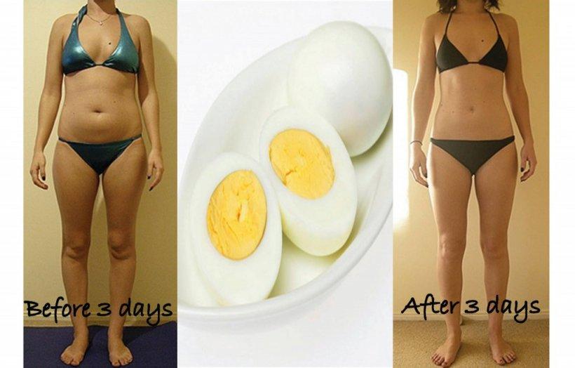 DIETĂ. Slăbește 3 kilograme în 3 zile cu dieta cu ouă