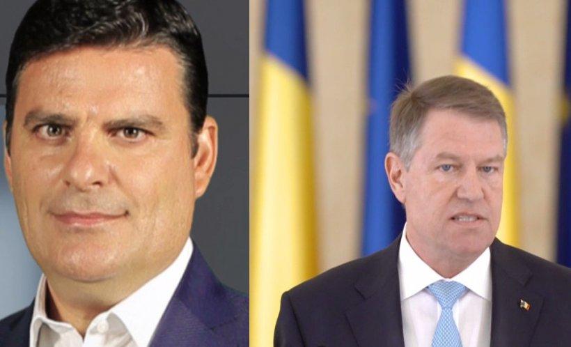 """Radu Tudor: """"Iohannis a avut un discurs politic de la tribuna Administrației prezidențiale"""""""