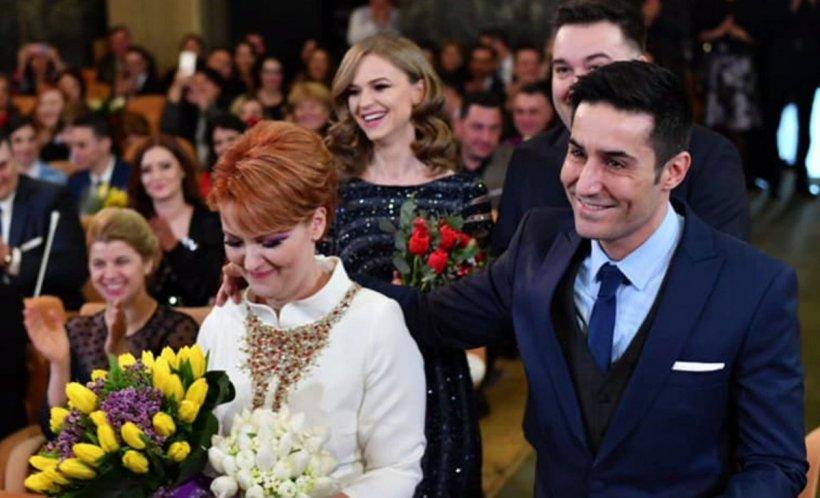 OlguțaVasilescu s-a căsătorit civil cu Claudiu Manda. Primele imagini - VIDEO
