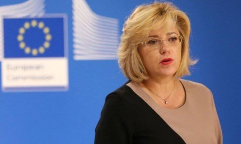 Corina Crețu: Uniunea Europeană a finanţat în zona Făgăraş, Sibiu şi Braşov proiecte de peste 800 de milioane de euro