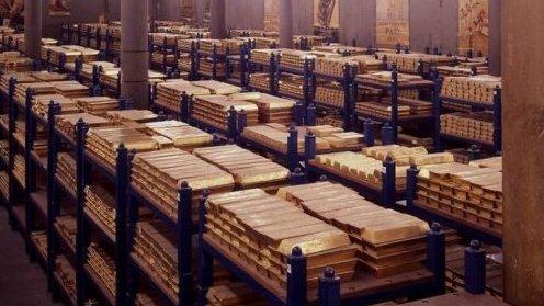 Cum arată locul în care România îşi ţine rezerva de aur. Vistieria se deschide cu chei de aproape un metru