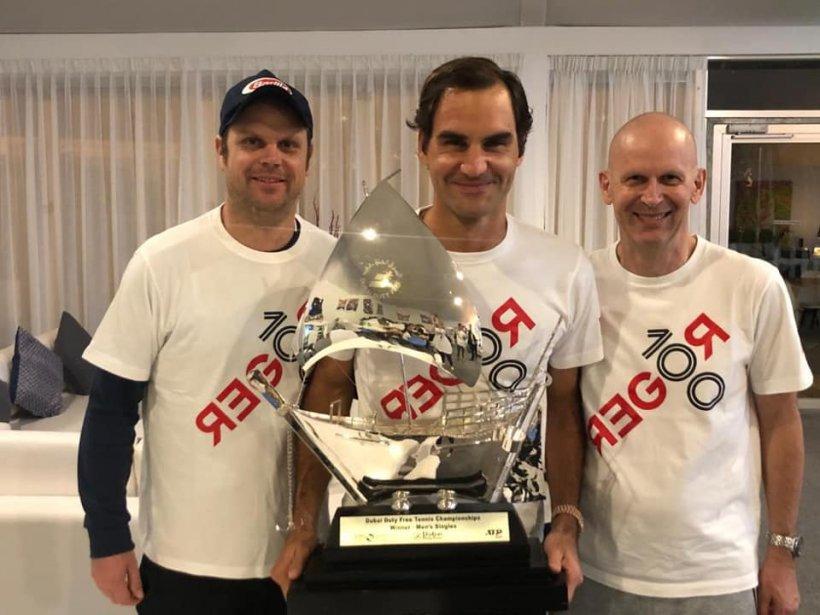 Roger Federer atinge o nouă bornă istorică. Titlul cu numărul 100 pentru elvețian VIDEO