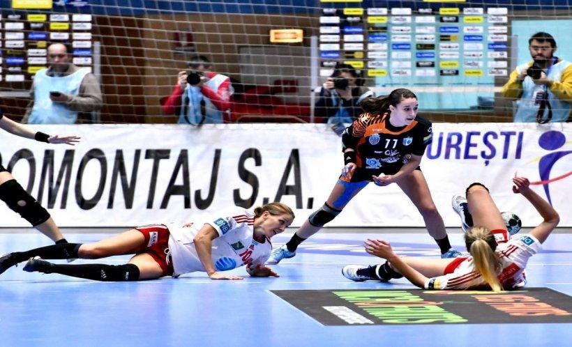 CSM București, rezultat modest în Liga Campionilor