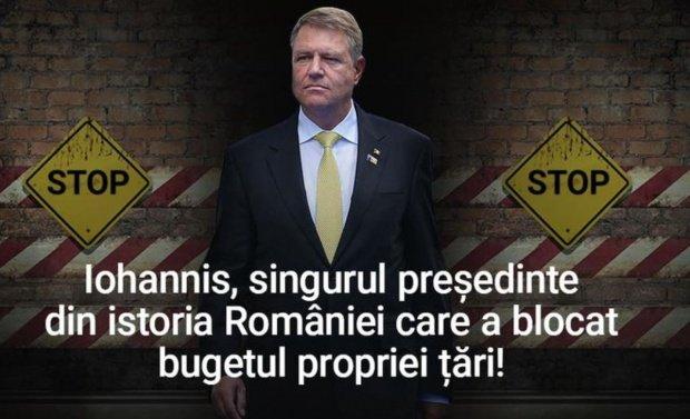 """PSD: """"Iohannis nu înţelege economie. Nu ştie să citească un buget"""""""