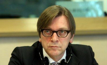 """Subiectiv. Guy Verhofstadt, liderul ALDE în PE, este în board-ul """"Friends of Europe"""", finanțat de George Soros"""