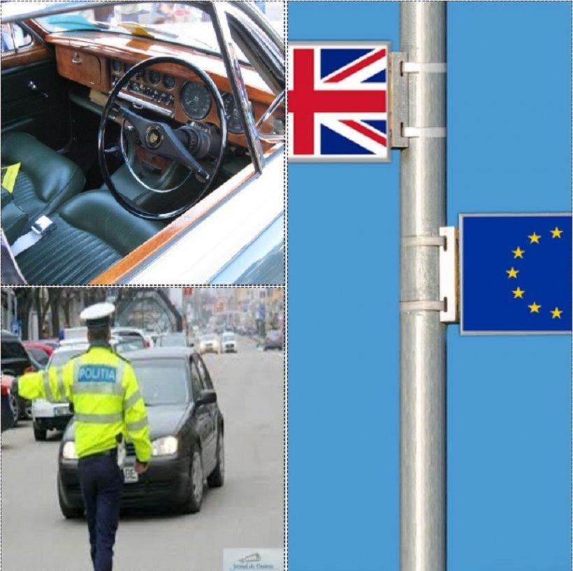 Mare atenţie pentru şoferii cu maşini aduse din Marea Britanie! Registrul Auto Român a făcut un anunţ important