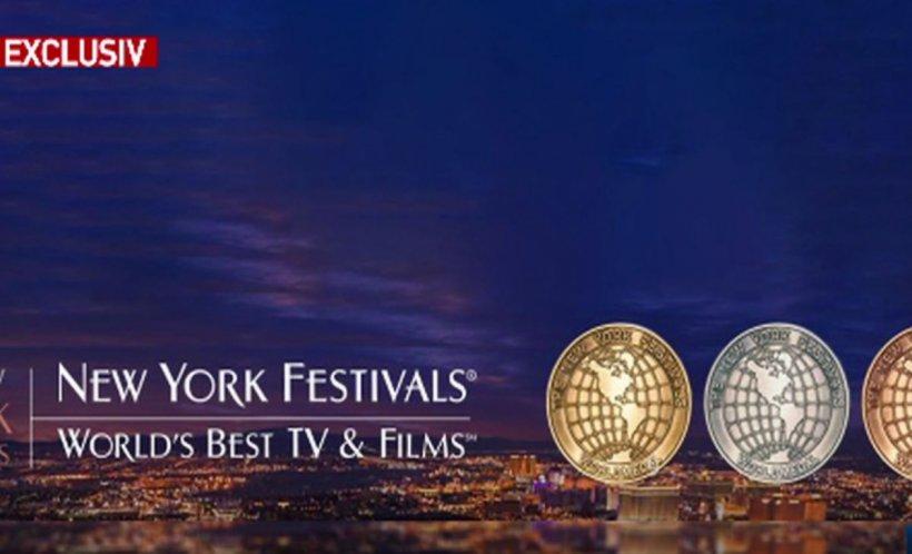 Nominalizări la New York Festivals pentru Antena 3
