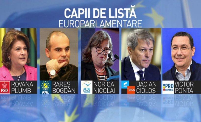 Dezvăluiri: Bătălia capilor de listă la europarlamentare