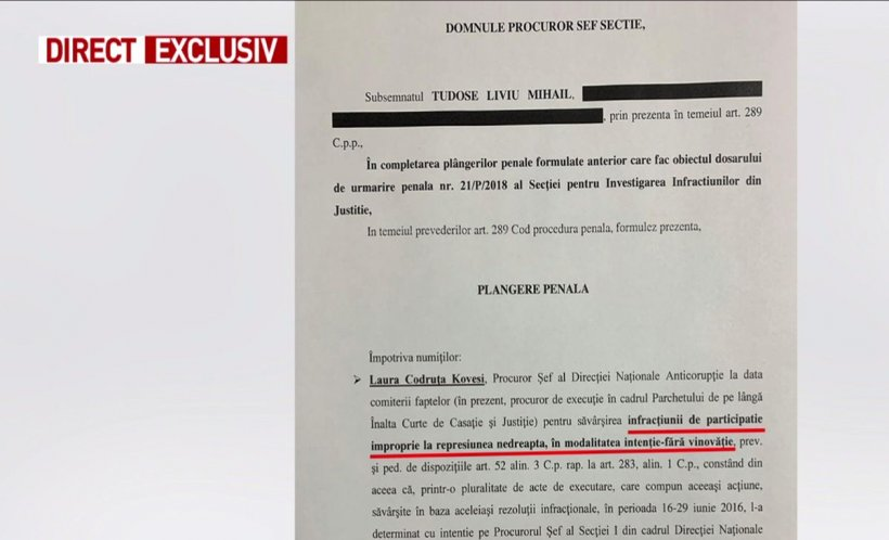 Documentul care o împiedică pe Kovesi să ajungă procuror european 534