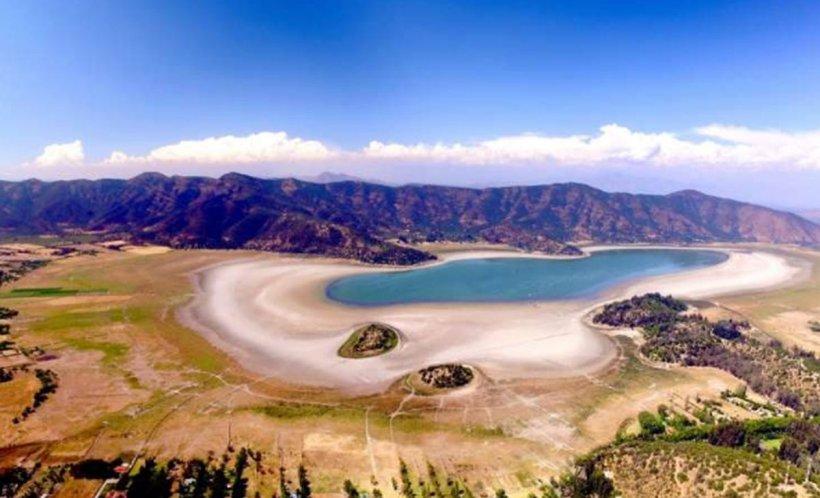 Un lac din Chile, şters de pe hartă din cauza secetei