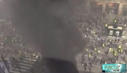 """Avertisment șocant la Paris față de protestatari. Guvernatorul militar: """"Ar putea deschide focul dacă vor fi puse vieţi în pericol"""""""