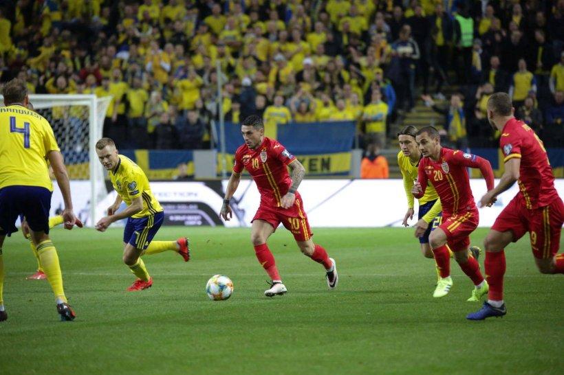 EURO 2020. Suedia-România 2-1. Tricolorii au arătat fotbal o jumătate de repriză