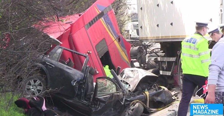 Familie distrusă într-un accident cumplit petrecut în Hunedoara