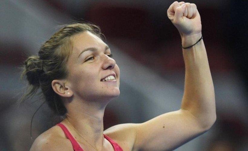 Simona Halep, victorie la proba de dublu de la Miami