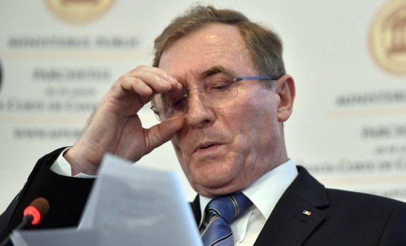Augustin Lazăr și-a depus candidatura pentru un nou mandat de procuror general